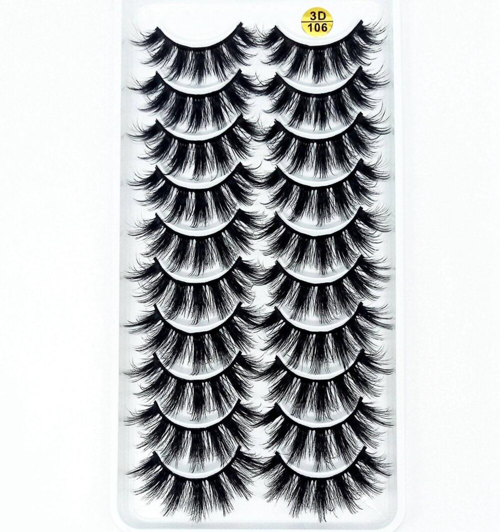 3D Soft Wispy Mink Hair False Eyelashes Set, 10 Pairs  $ 1.99  Tag a friend who would love this!  FREE Shipping USA    #beauty #health #shopping #allglitterandglamour