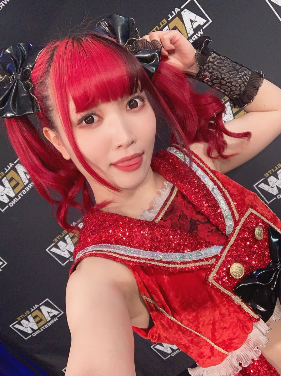 Replying to @maki_itoh: I HAVE ARRIVED MOTHERFUCKERS! #AEW