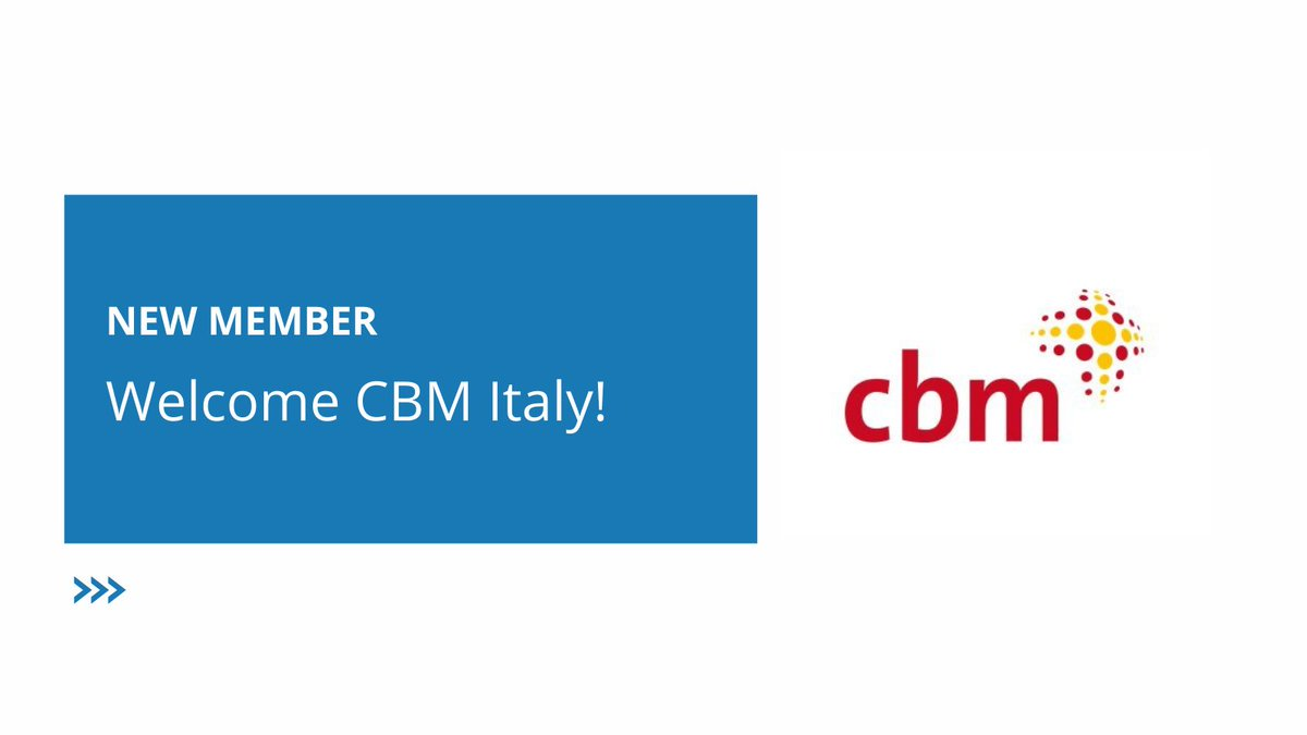 👏Welcome @CBMItaliaOnlus!  #EDFBoard has voted by unanimity your admission. 😀We are happy to have you as our new members! https://t.co/CWoN4RTIf6