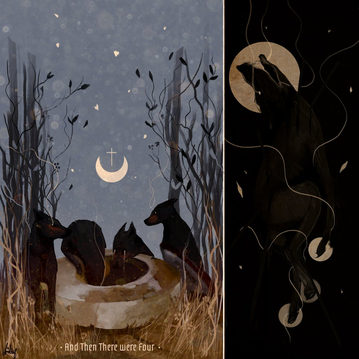 @Notideeart Noti thanks for hosting love! I'm dolly, I do dark and emotional art, here are some of my works