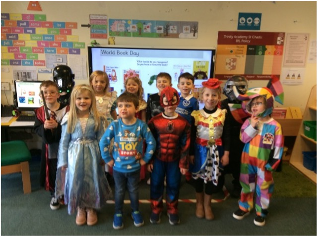 We loved celebrating #WorldBookDay last week📚! Here are some of our pupils dressed up as their favourite characters!