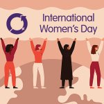 Image for the Tweet beginning: Today marks International Women's Day.