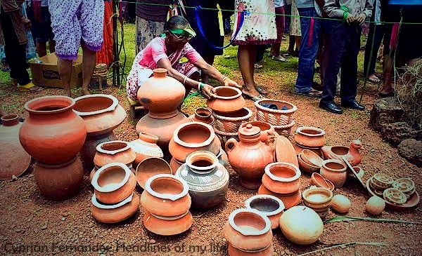 Its time to take out your clay #water pots and start reducing your body humidity. #goa is getting hotter and hotter and  #Goan #beaches are getting crowded every day. Buy #clay wares from local vendors and help them cope with the #budget and #corona #crises. #Goatourism