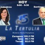 Image for the Tweet beginning: Hoy, en La Tertulia de