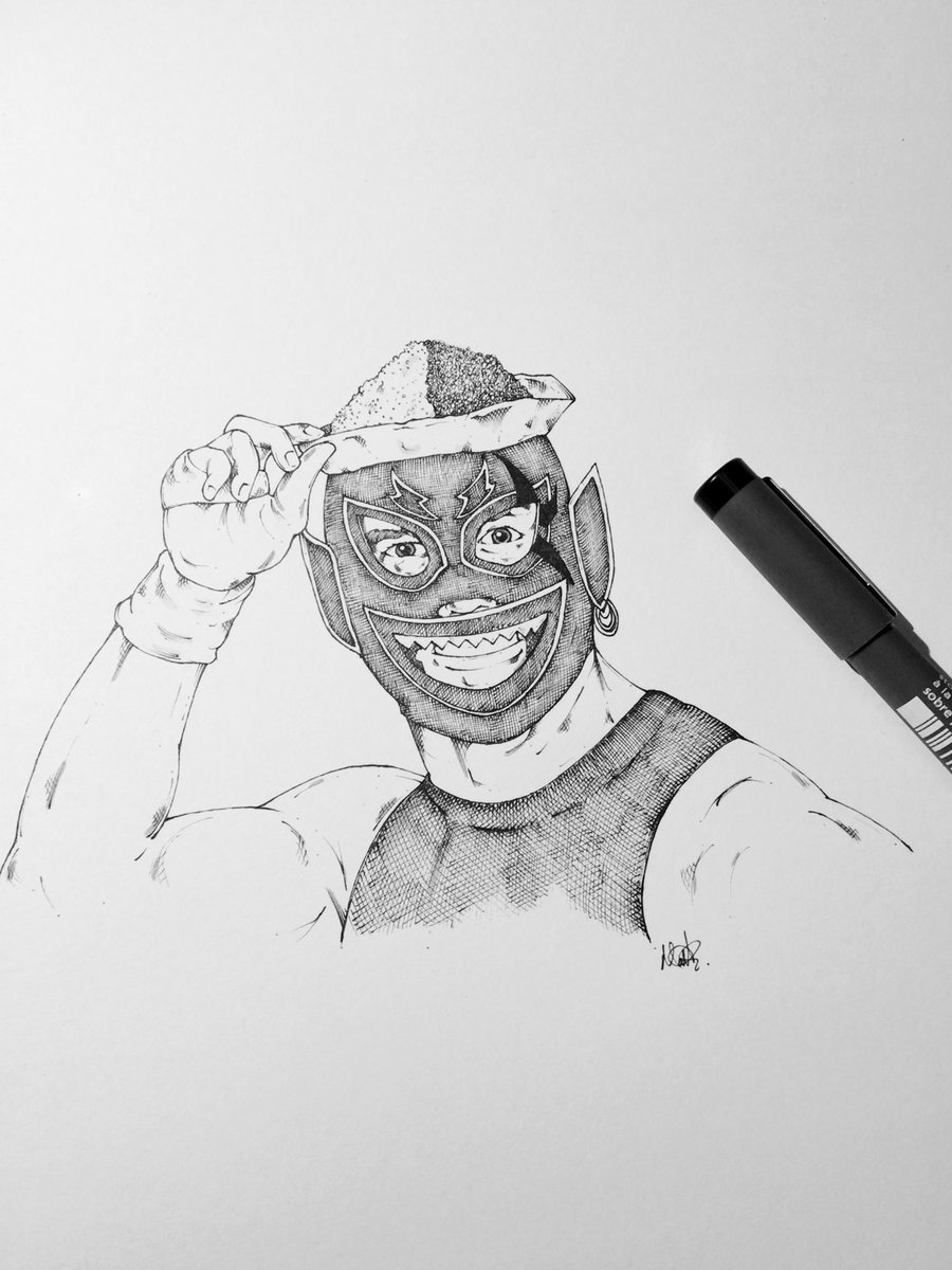 The 11th man to win the MPW British Commonwealth Junior Heavyweight Championship, coming into being to participate in the 2nd Fukumen World League and then commandeering reality as his own, hot, spicy and tastes great, Curry Man @facdaniels #michipro #aew #ImpactWrestling #njpw