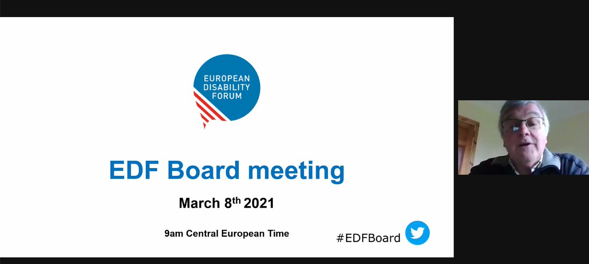 Starting the #EDFboard meeting discussing our executive report and 2020 main achievements. https://t.co/xT2VHN9Vrv