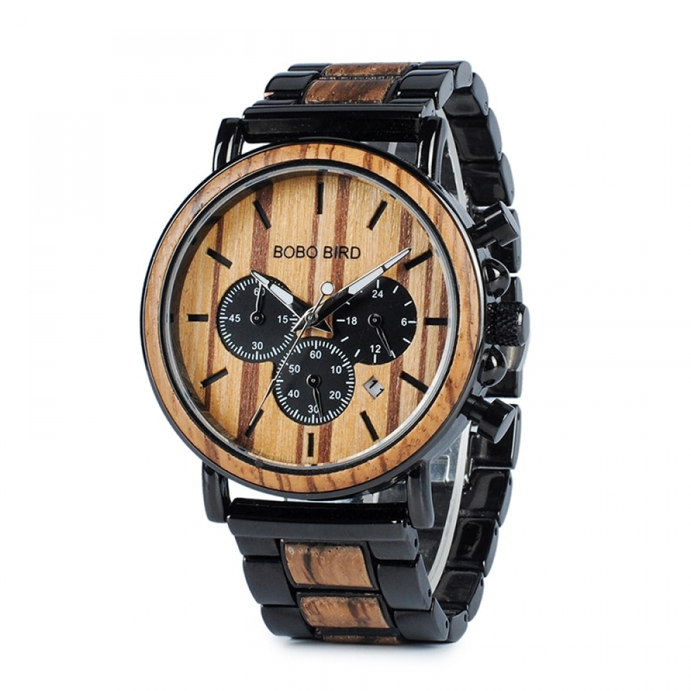 #instadaily Boho Style Wooden Men's Watch