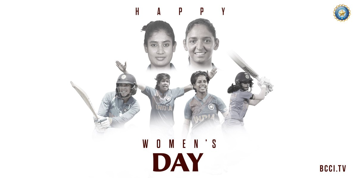 Replying to @BCCIWomen: To all the women out there, here's wishing a very #HappyWomensDay 🙂