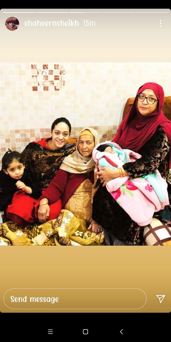 😍♥️ @Shaheer_S  #family #ShaheerSheikh