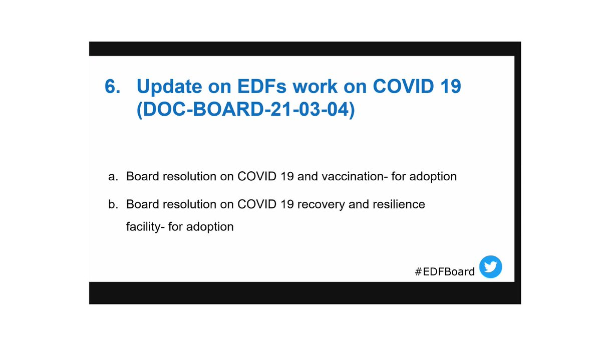 #EDFboard discussing #COVID19 and the impact and needs of persons with disabilities.  ➡️Country resolutions ➡️Access to information and inclusive communication ➡️Concern about prioritization in vaccination roll out plans. https://t.co/q5icqQcmrp