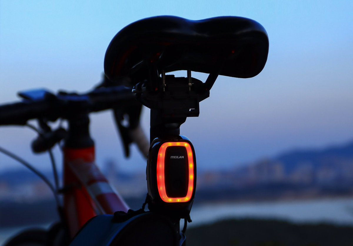 X6 USB rechargeable bike rear light with 36 hours battery life will certainly support your applicable ride times. Smart auto brake sensing function guards your safety along the road.  #cycling #biking #bikers #cyclists