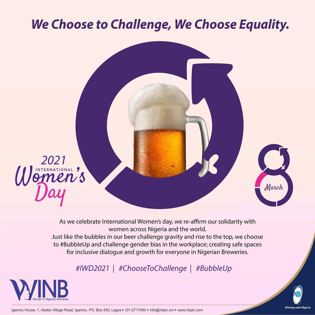 Replying to @NBPLC: We #ChoosetoChallenge.  We Choose Equality.  #IWD2021 #BubbleUp #WeAreNBPlc