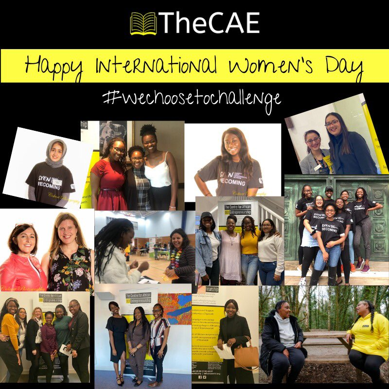Happy International Women's day from #TheCAE!   The theme this year is #ChooseToChallenge #bias and #inequality. As an organisation, we recognise this and are pleased to have a project that focuses on empowering Women and providing opportunities @WomenCae   #IWD2021 #Wales
