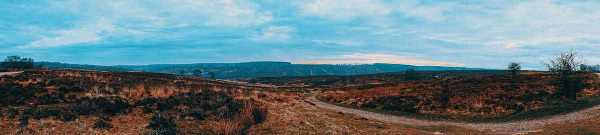 A panorama of where I was this morning 🥰  #fujifilm #fuji #xt3 #landscapephotography #cannock  #cannockchase #VSCO #lightroom