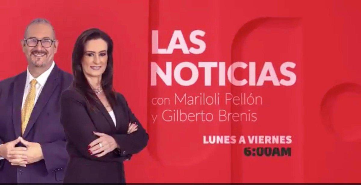 Gracias por habernos acompañado en #LasNoticiasDeLaMañana. Estaremos de regreso mañana a las 6am por #TelevisaPuebla / Canal 4.1 / Canal 151 de #Sky / Canal 104 de #Megacable / canal de Televisa Puebla de You Tube y