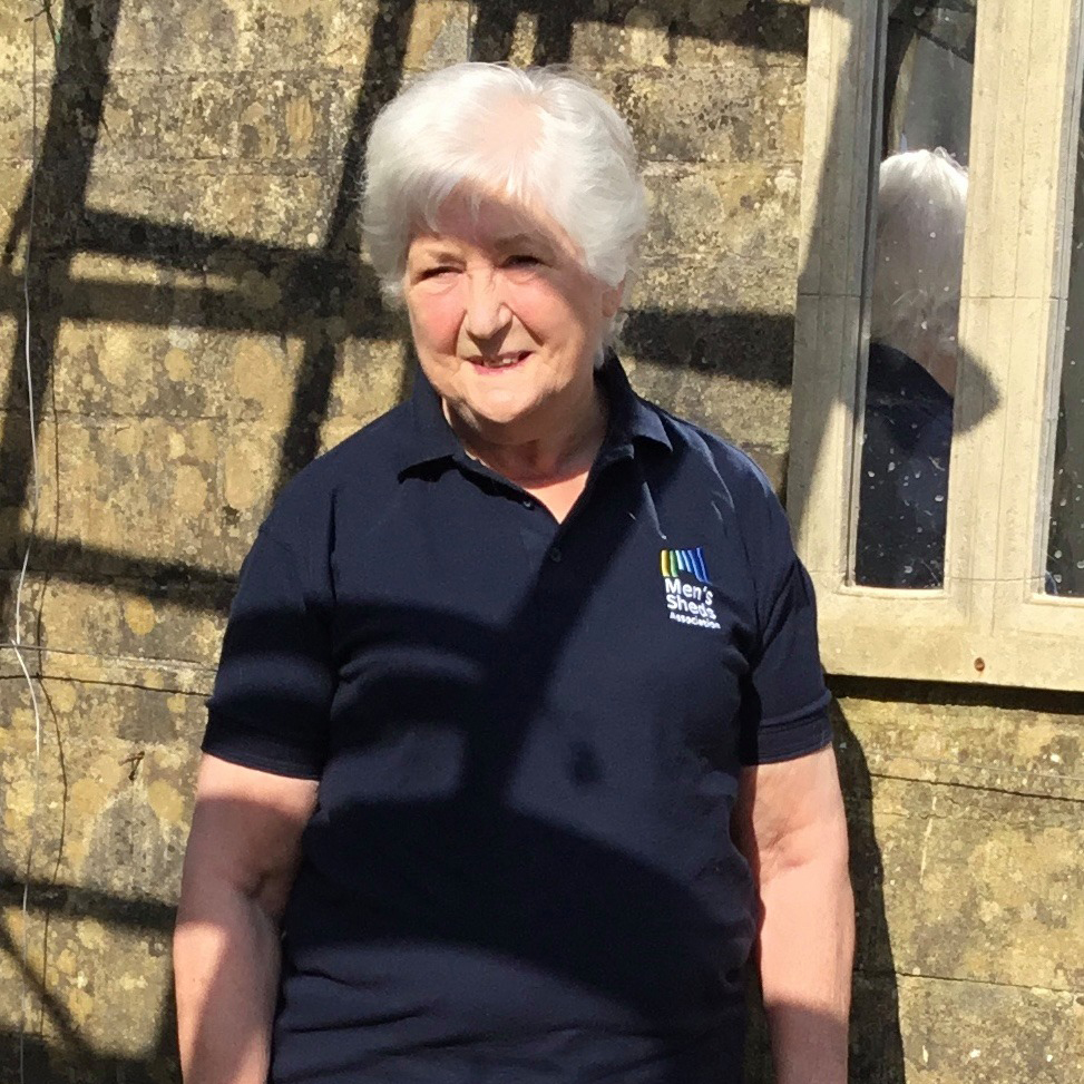 In keeping with #InternationalWomensDay2021 we want to celebrate one of our own.  Meet Pat one of our ambassadors who has been actively involved with her local Men's Shed and making such a difference in our community! #choosetochallenge #iwd2021