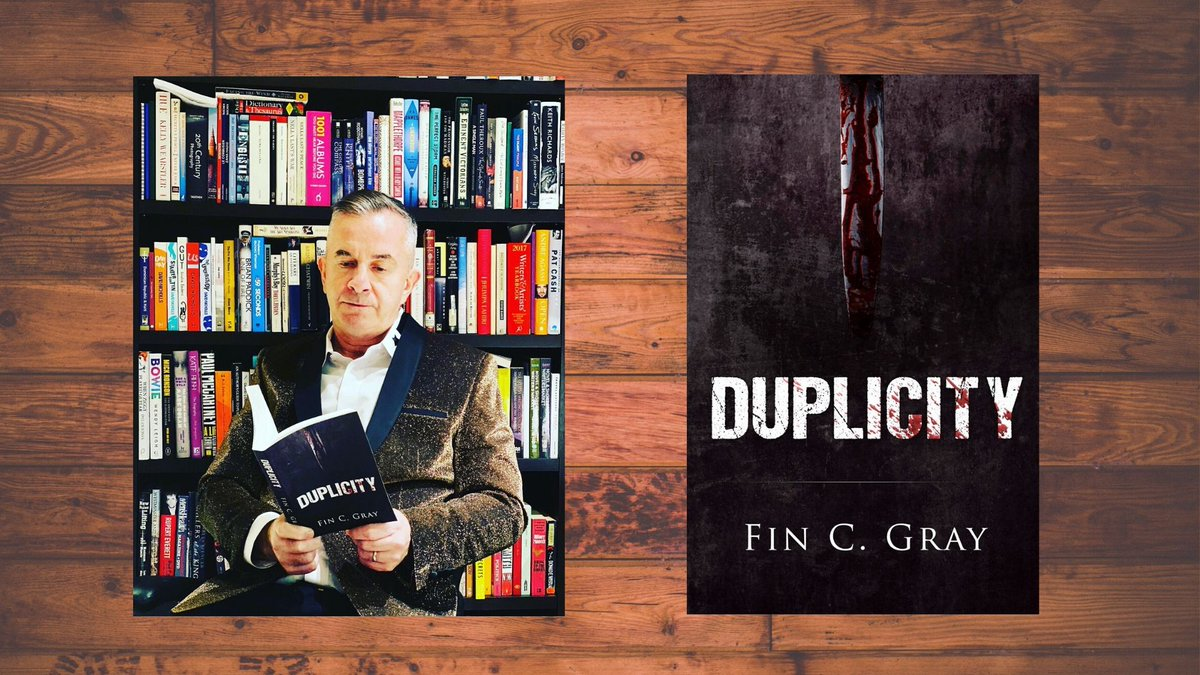 """A little bit of #color graces the #dark cover, but the interior remains cloudy and full of #mystery. Get your copy of """"Duplicity"""" and experience; #secrets revealed. #Mustread #books @FinCGray   From #Amazon :  From #NetGalley:"""