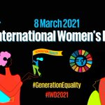 Image for the Tweet beginning: Today is #InternationalWomensDay, a global