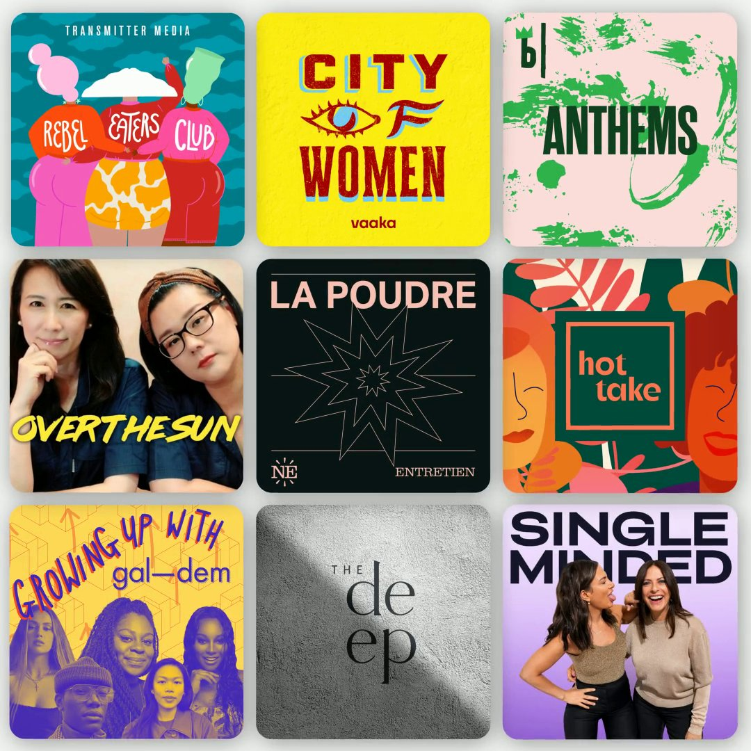 Women are leading conversations, telling stories and engaging listeners all around the world. This #InternationalWomensDay, discover more podcasts by and for women.