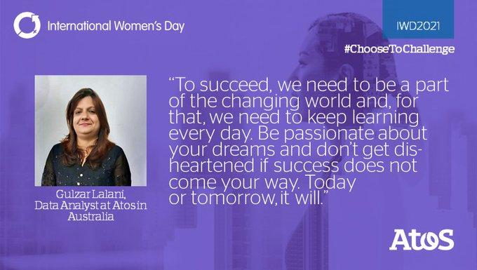 ¡Feliz #IWD20210! 🎉Estamos orgullosos de trabajar junto a mujeres inspiradoras. Lea sus hi...