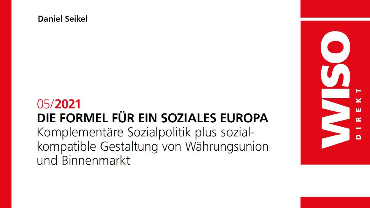 Zukunft für ein #sozialesEuropa – Hausaufgaben für die europäische Politik: Reform der europäischen Fiskalregeln, mehr Schutz für soziale Rechte, Durchsetzung sozialer Mindeststandards. Beitrag von @DanielSeikel auf @FESonline ➡️ library.fes.de/pdf-files/wiso…