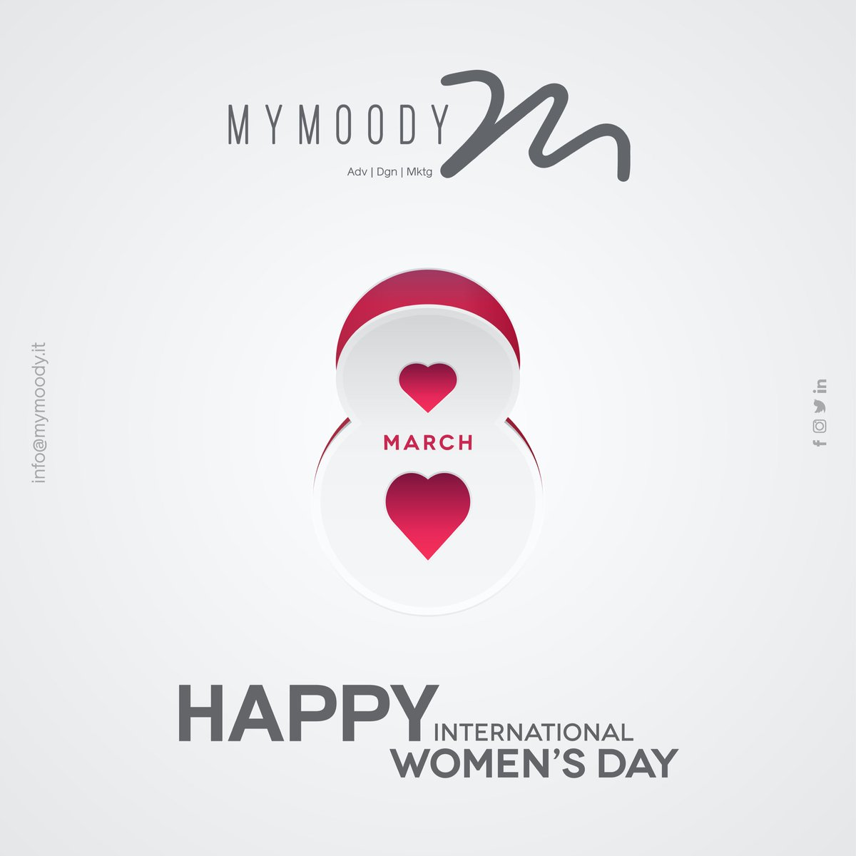MYMOODY | HAPPY WOMEN'S DAY |  info@mymoody.it | #creativity #graphicdesign #art #dream #love #life #follow #design #fashion #mystery #culture #charm #beauty #photo #excellence #cult #future #sky #story #mymoody