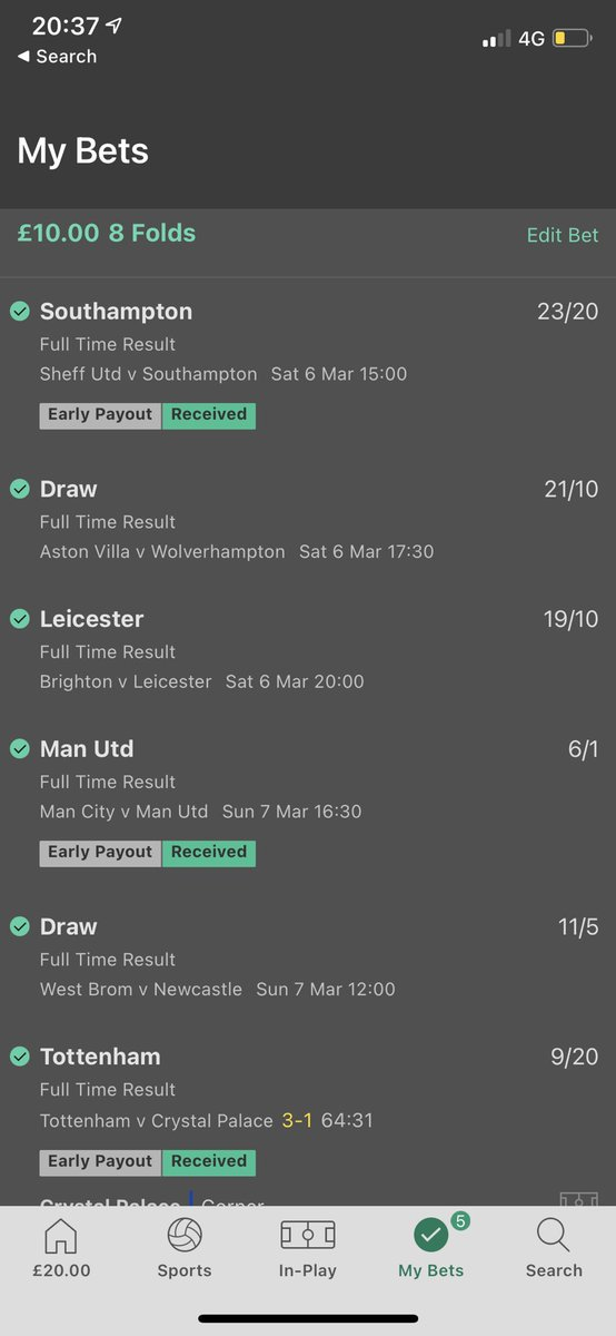 Cash out. Tf! RT @BettingOddsUK: Oh. my. word.  @timoto2 needs two draws tonight for £118k. What would you do?... 😲  #BeatingTheBookie https://t.co/ZRgWOL4eI7