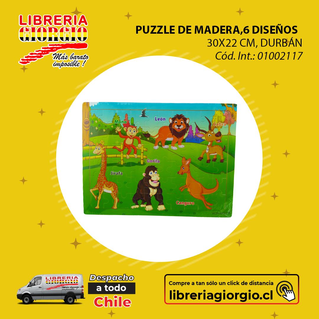 Visítenos en . COMPRE ONLINE seleccionando Librería Giorgio Camilo Henríquez, con despacho a domicilio a todo Chile 🚛🇨🇱 Compre en   #Puzzle #madera #fun #animales #instagood #beautiful #happy #cute #art #girl #love #style #smile