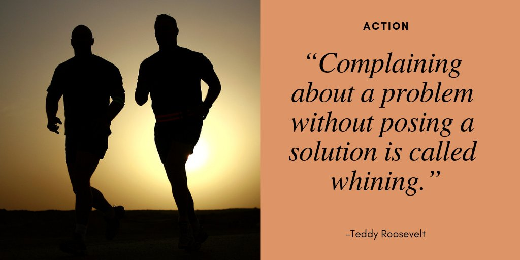 Complaining about a problem without posing a #solution is called whining.   #Action Profiletree #MotivationMonday #MondayBlues #MarketingMonday