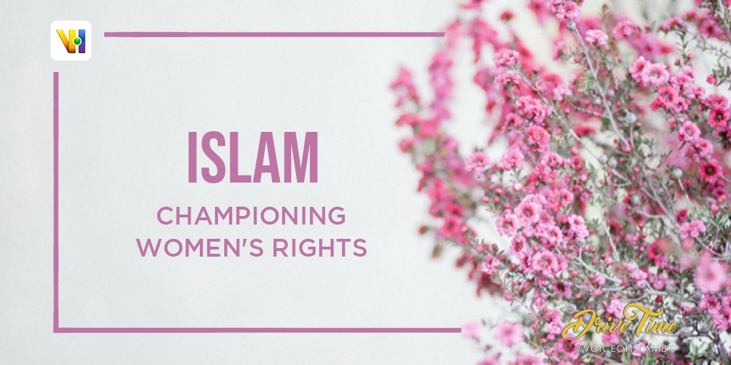 Join us LIVE from 4pm this #InternationalWomensDay as we discuss the liberation and freedom women have because of Islam.  #IWD2021 #IWD