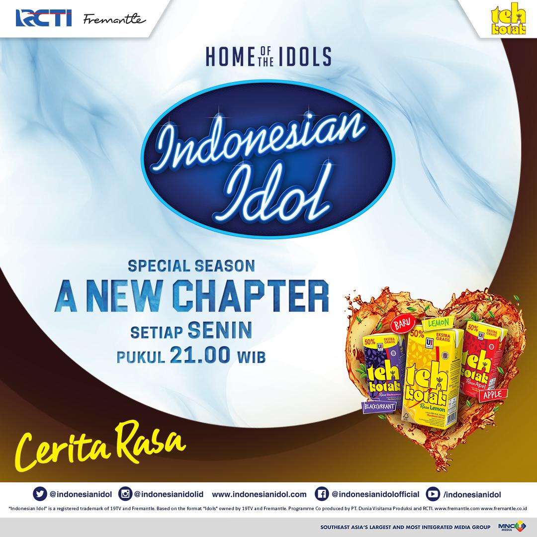 Yuk saksikan Indonesian Idol Spesial Season ditemani sama Teh Kotak, dengan menyajikan sensasi rasa terbaik dari teh alami. Karena setiap cerita pasti punya rasa, sama seperti teh kotak yang punya banyak cerita untuk kamu. #IdolxTehKotak