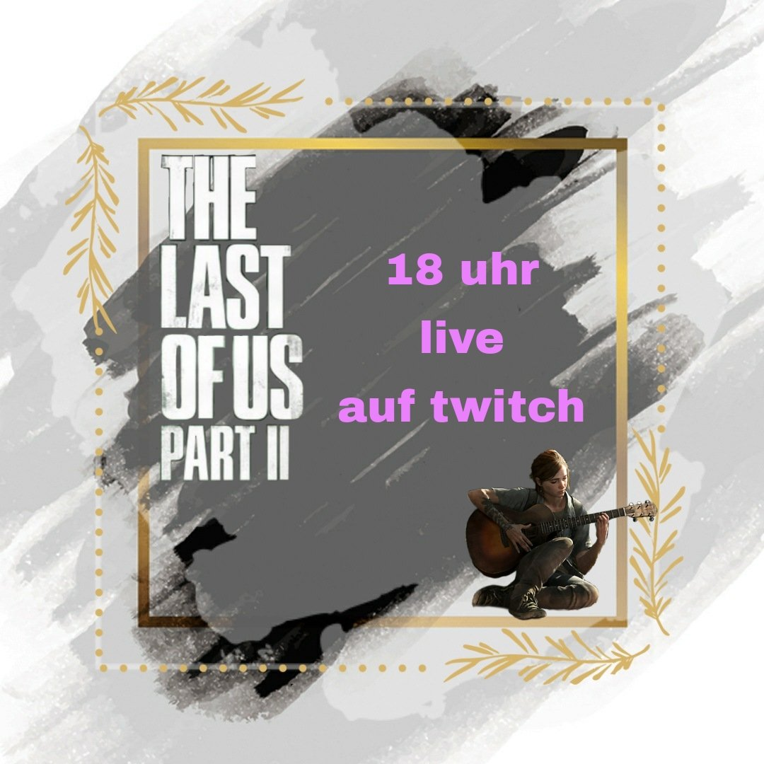 📢Achtung eine Durchsage📢  Heute abend gehts weiter mit dem nächsten #stream auf #twitch 💜  Wir machen weiter mit the Last of us 2 und zur Krönung gibts noch 2 emp Gutscheine zu gewinnen😊  #twitchtv #streaming #TheLastofUsPartII #fun #PlayStation #gaming