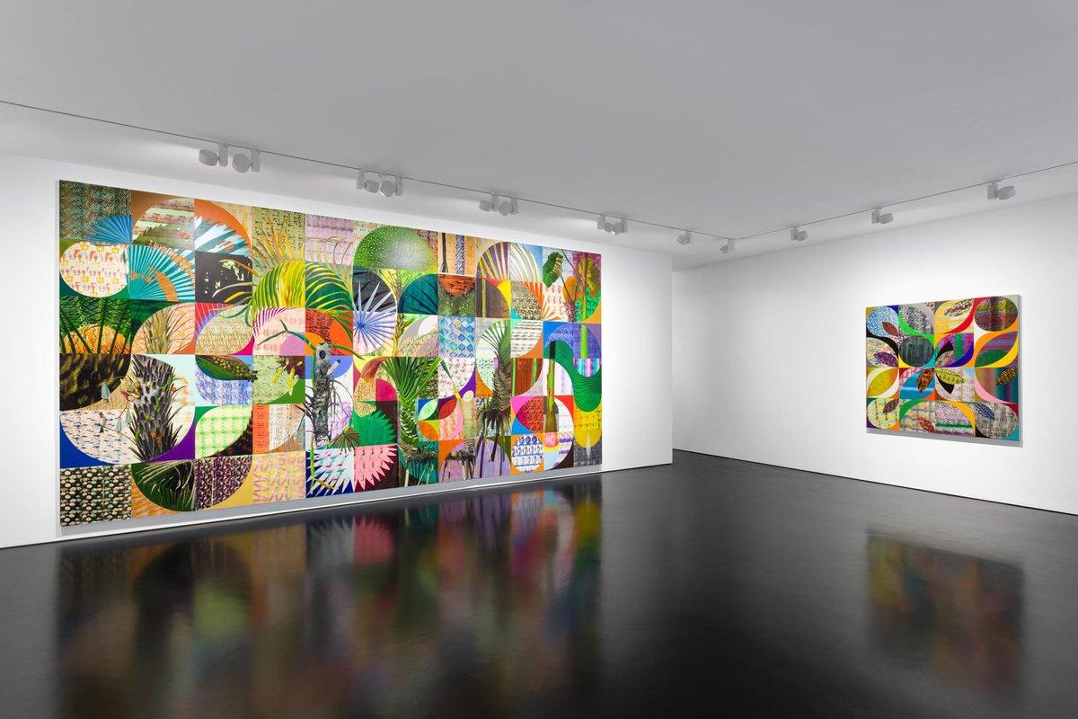 "LUIZ ZERBINI ""Fire"" at @SFGalleryLondon // Read more at  #art #painting #stephenfriedmangallery #luizzerbini #blackqube #london #contemporaryart #contemporaryartcollectors #installation #drawing"