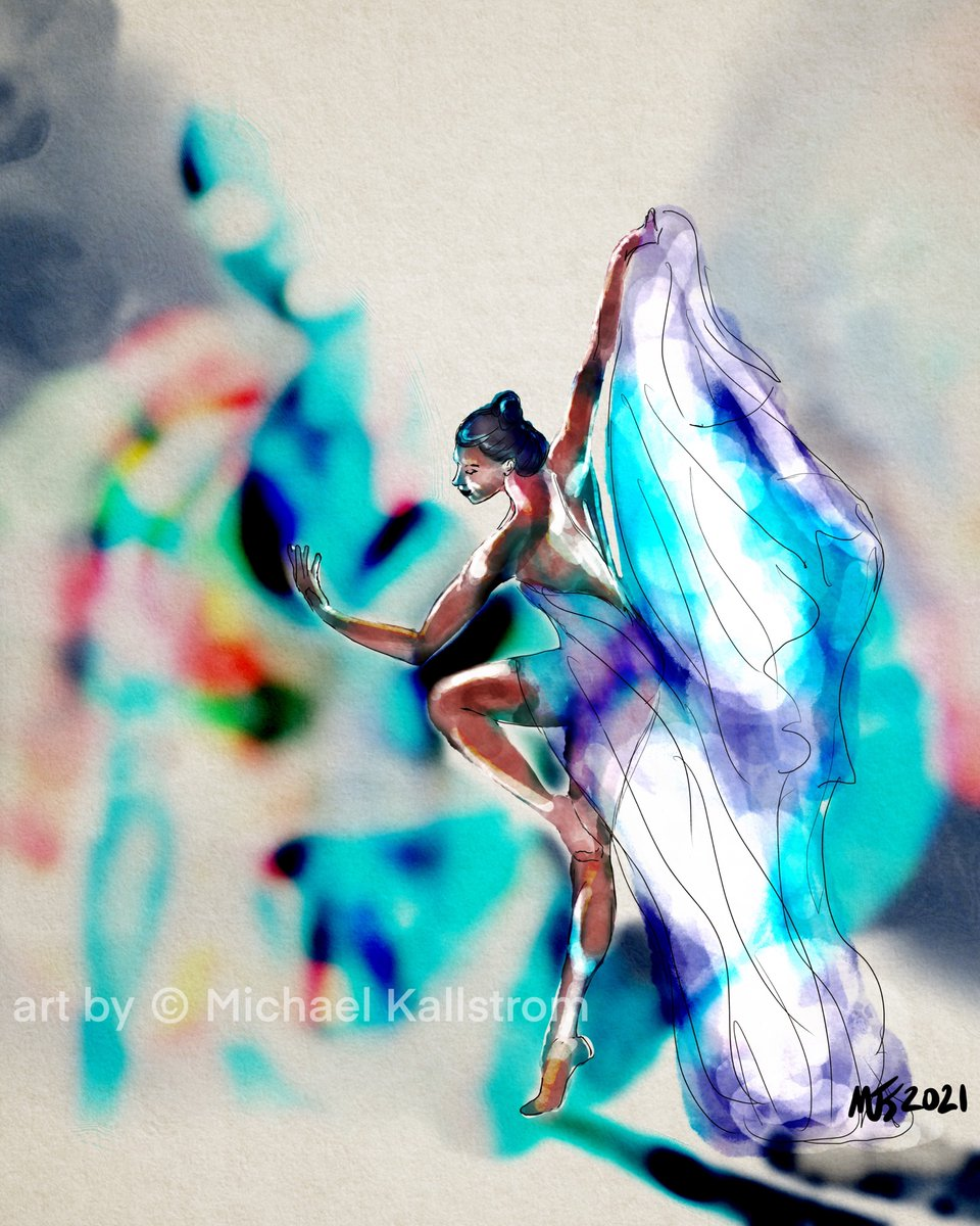 Morning Work  Some of my work is available on    #thedailysketch #drawing #artgallery #painting #art #artist #Procreate #digitalart #portrait #creative #inspiration #artoftheday #portrait #portraitpainting  #ballet #ballerina