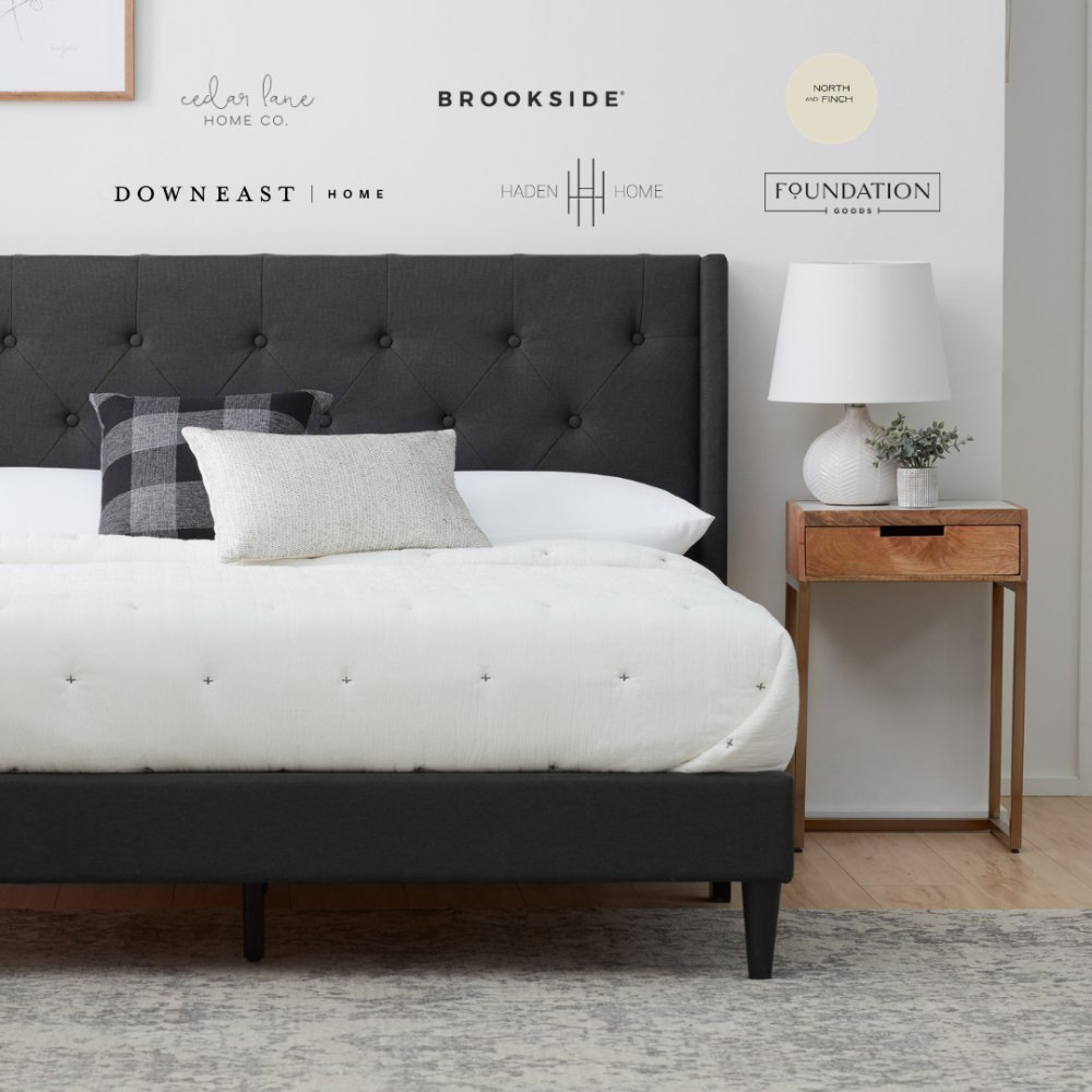 Win $1,500 in #Home Designs 🇺🇸3/12/21  ✴️Brookside Home Designs - Bed frame ✴️Home -Rug up to $200 ✴️Cedar Lane Home -$200 Shop Credit ✴️Foundation Goods -$200 Shop Credit ✴️Haden Home -$200 Shop Credit ✴️North and Finch -$200 Credit   #Giveaway #Win