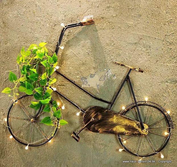 Wohnzimmer | Retro Eisen Fahrrad Wand Dekoration | Haus und Garten Dekoration Günstig Online Kaufen #deko #dekoration #home #garten #haus #wohnen #ideen #wanddekoration #gartendeko #living #dyn