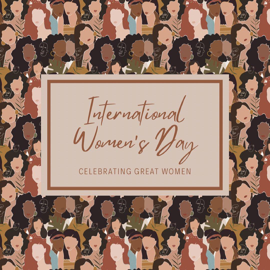 #internationalwomensday2021 #MotivationMonday Here's to celebrating amazing women all over the world!