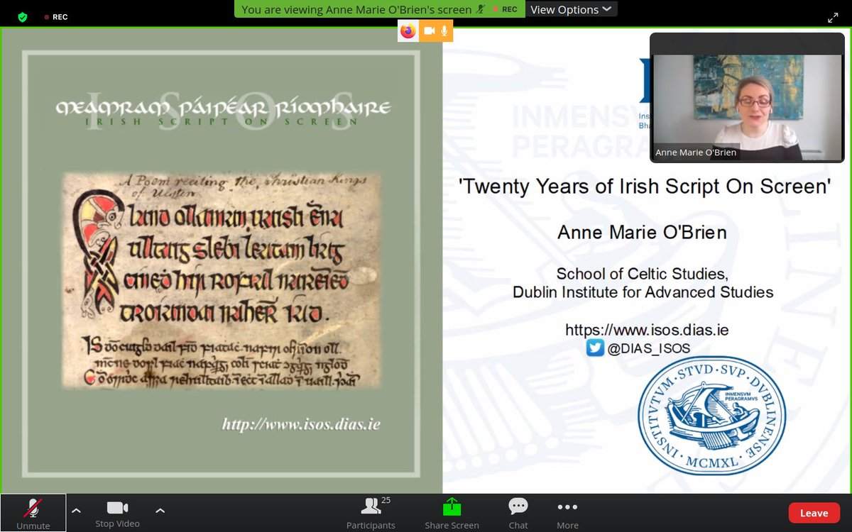 test Twitter Media - Annemarie O'Brien @DIAS_ISOS on 'Twenty Years of Irish Script on Screen' for @LaiRBG AGM.  You can also hear more about this amazing project on our #podcast Níhansae https://t.co/ZfnSaOksjp https://t.co/r6amcYoSGD