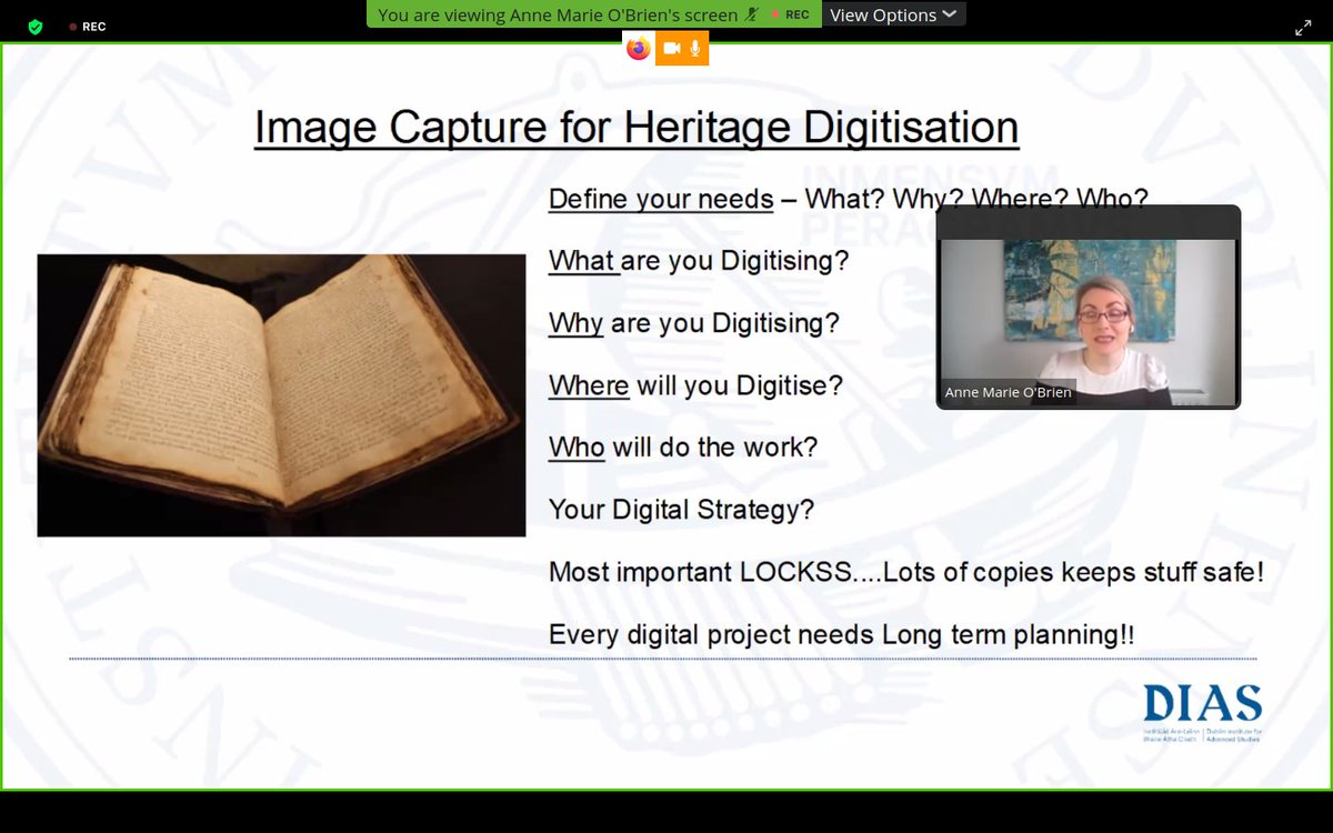 test Twitter Media - Fantastic advice from Annemarie @DIAS_ISOS to any library who may be considering #digitising projects. #DIASdiscovers @LaiRBG https://t.co/02XdYsx770