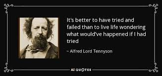 """It's better to have tried & failed than to live life wondering what would've happened if I had tried"" #MondayMotivation #mondaythoughts #MondayVibes"