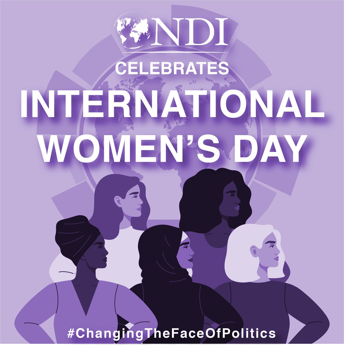 Happy #InternationalWomensDay  from @NDI's Gender, Women and Democracy team!   Today we are celebrating all of the #PoliticalWomen♀️ who are #ChangingTheFaceOfPolitics.   https://t.co/7w0VSgFqlt https://t.co/qc239Vnmwk