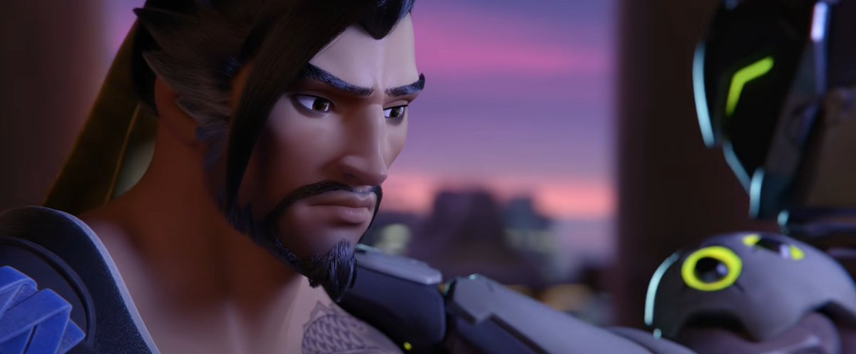 this shit still gets me Genji: and now you must forgive yourself Hanzo: .......I beg ur pardon >:(