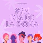 Image for the Tweet beginning: #8M avui i cada dia💜