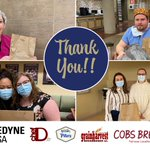 A delicious THANK You to @TeledyneDALSA @ChefDtv @Pillers1957 @grainharvest @COBSBread @BothwellCheese for fueling the @StMarysGenHosp superheroes last Friday! What a great way to start the weekend, with a scrumptious, fresh lunch! #SupportLocal #Healthcare #InThisTogether