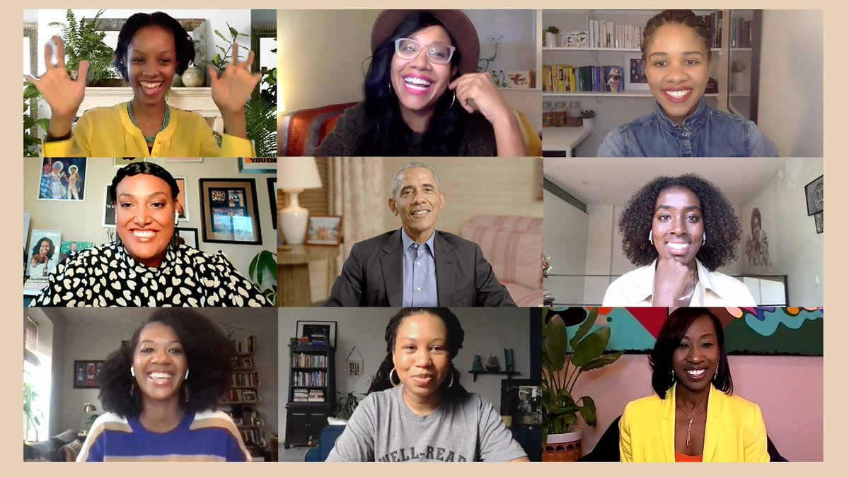 In each of us, there's a story to be shared—a story that's sacred and can bring us together. I had such a good time talking with the @WellReadBlkGirl Book Club about A Promised Land because just as they learned about my story, I had a chance to learn from theirs.