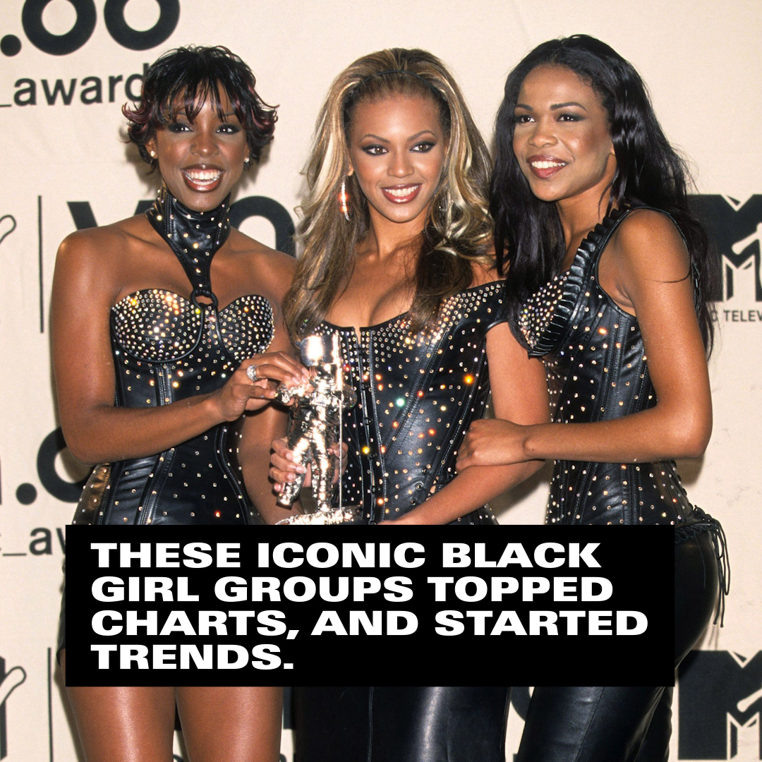 I owe literally everything about who I am today to @destinyschild.   Here's how @OfficialTLC, @TheSaltNPepa, and more incredible women make #BlackHistoryNow with their influence on today's hottest styles! 📸✨
