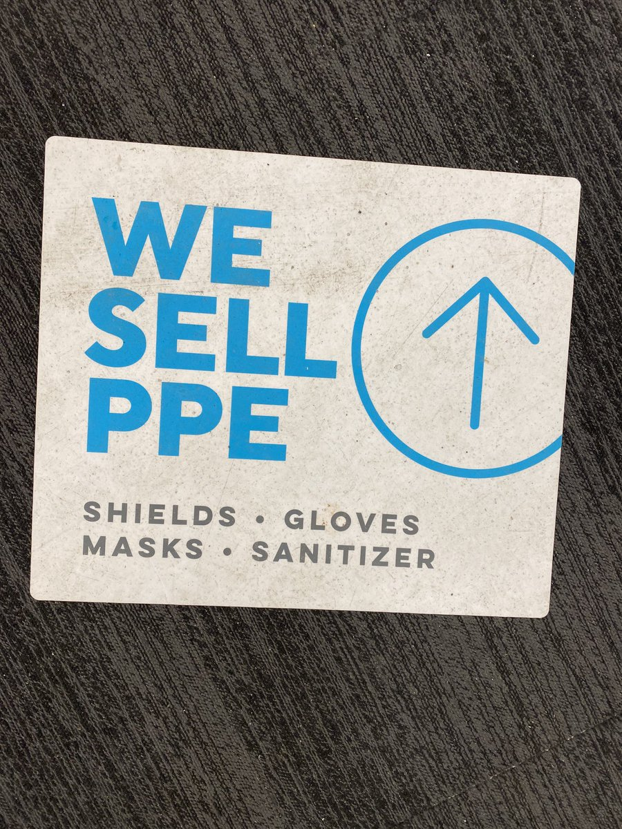 """So, I saw this as """"We Sell Pee"""", Which is really Capitalism at its finest when you think about it."""