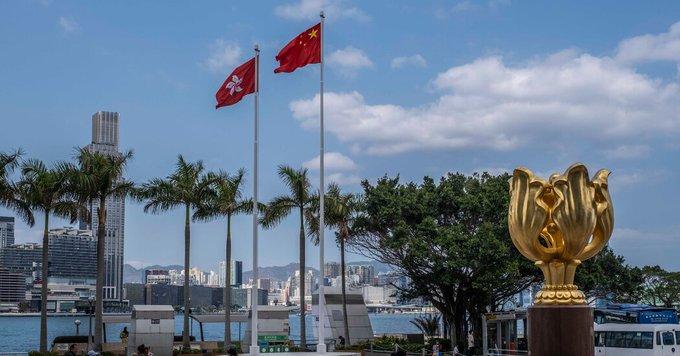 To Build Loyalty to China, Hong Kong Rewrites History Photo