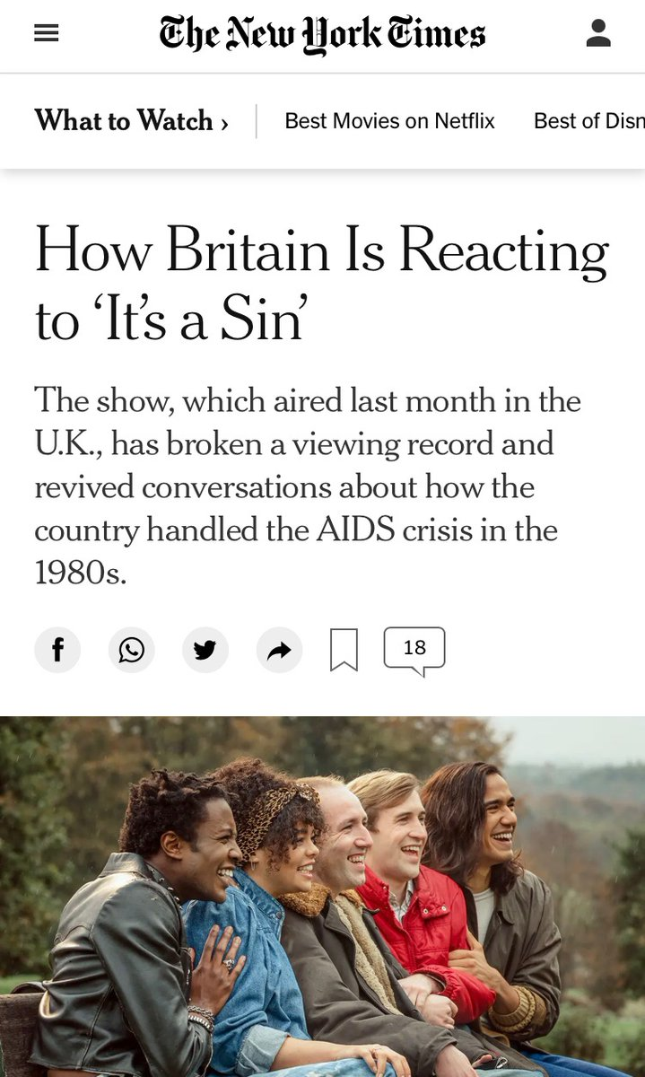 Thank you @nytimes for including me in this piece, I'm glad to see #ItsASin getting so much attention across the pond!  Shout out to a fellow David Craig (@Producing2Power) for sending this my way.  https://t.co/IhAMd3PIWG https://t.co/rRvXxpeGVY