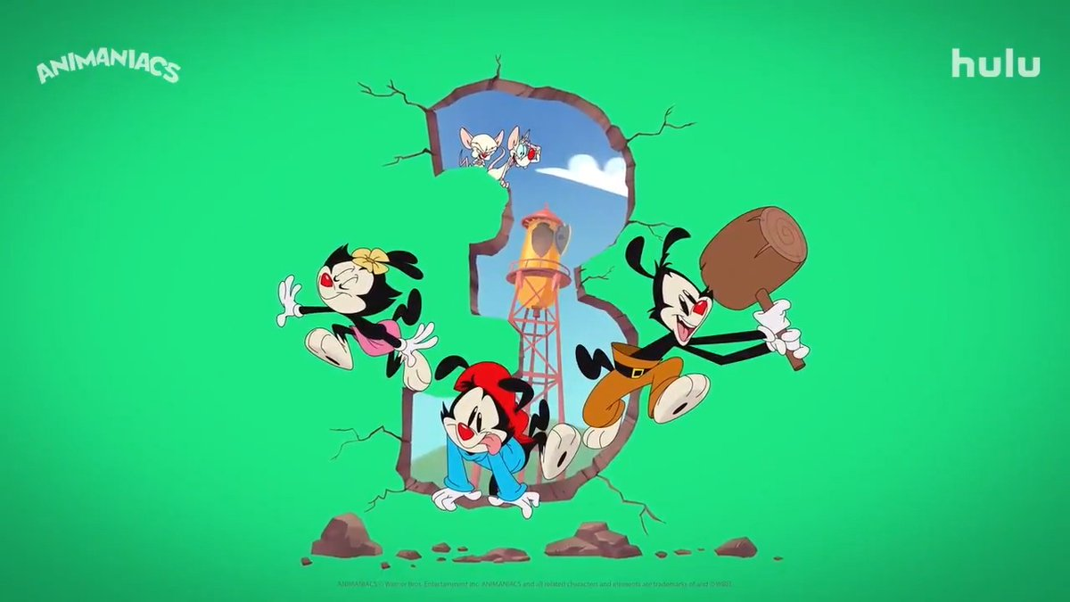 Just go ahead and give us all the green lights. 🚦 #Animaniacs has been greenlit for a THIRD season!
